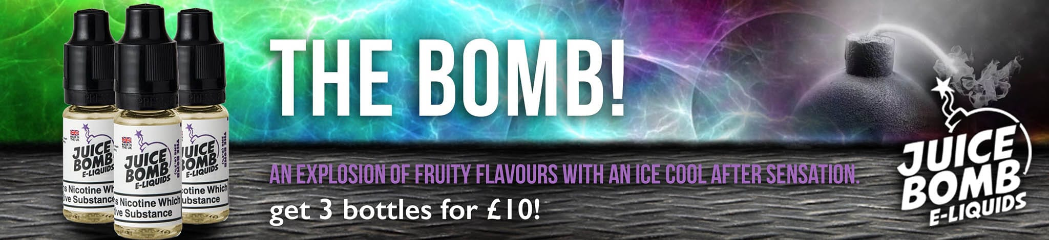 The Bomb web banner 2018